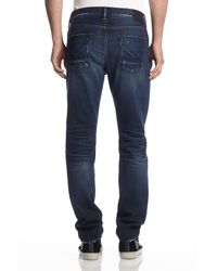 Hudson Jeans - Blue Sartor Slouchy Skinny for Men - Lyst