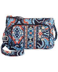Vera Bradley | Multicolor Little Hipster Bag | Lyst