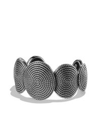 David Yurman - Metallic Cable Coil Cuff - Lyst