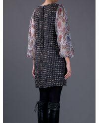 Dolce & Gabbana | Multicolor Tweed Dress | Lyst