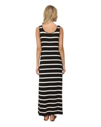 Kensie - Multicolor Light Weight Viscose Spandex Maxi Dress Ks6k7592 - Lyst