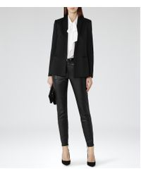 Reiss | White Julie Pussy Bow Blouse | Lyst
