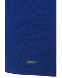 HUGO - Blue Sweater In New Wool: 'sidalio' for Men - Lyst