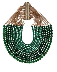 Rosantica - Green Jade Rassia Necklace - Lyst