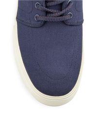 Polo Ralph Lauren | Blue Faxon Low Lace-up Sneakers for Men | Lyst