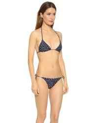 Proenza Schouler - Classic Triangle Bikini - Electric Blue - Lyst