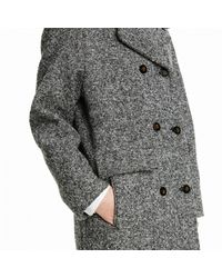 Trademark | Gray Double-breasted Cecil Coat | Lyst