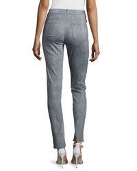 Lafayette 148 New York - Multicolor Snakeskin-print Slim Jeans - Lyst