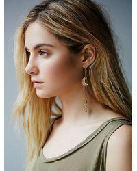 Free People | Metallic Laurel Hill Jewelry Womens Myth Earrings | Lyst