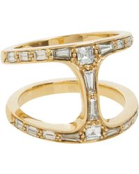 Hoorsenbuhs | Metallic Diamond & Gold Dame Phantom Ring | Lyst