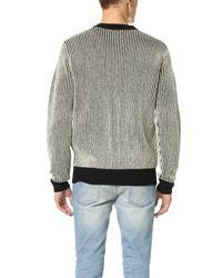 Obey - Black Sloper Sweater for Men - Lyst