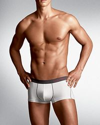 Calvin Klein - White Prostretch Reflex Low Rise Trunks for Men - Lyst