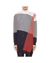 Jil Sander - Multicolor Cashmere And Silk Sweater Dress - Lyst