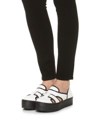 Opening Ceremony - Black Binx Buckle Slip On Sandal Sneakers - Lyst