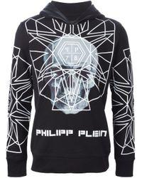 Philipp Plein - Black 'better Now' Hoodie for Men - Lyst