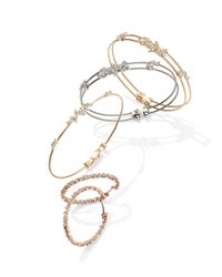 Paul Morelli - Yellow Diamond Confetti Double Wire Bracelet - Lyst