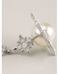 Vivienne Westwood | White 'isolde' Pearl Pendant Necklace | Lyst