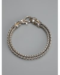 Stephen Webster - Metallic Snake Head Bracelet - Lyst