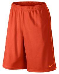 "Nike | Orange 10"" Epic Knit Performance Shorts for Men | Lyst"