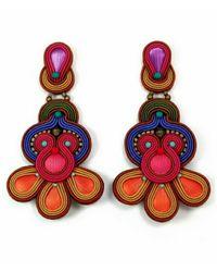 Dori Csengeri | Multicolor Delirio Earrings | Lyst