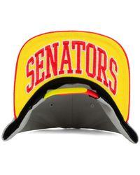 KTZ | Gray Ottawa Senators Bright Ice Up 9fifty Snapback Cap for Men | Lyst