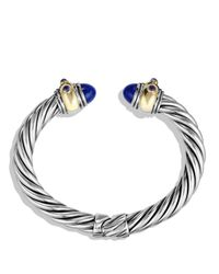 David Yurman - Blue Iolite And Gold - Lyst