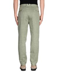 Incotex - Green Casual Pants for Men - Lyst
