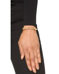 Vita Fede - Metallic Mini Octagon Bracelet - Rose Gold - Lyst