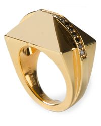 Ruifier | Metallic 'icon Shard' Ring | Lyst
