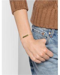 BaubleBar | Metallic Solid Bar Bracelet | Lyst