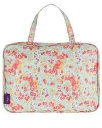 Liberty - Purple Tatum Print Tana Lawn Weekend Wash Bag - Lyst