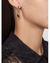 Eddie Borgo | Black Drop Onyx Curved Earrings | Lyst