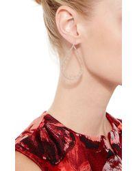 Joelle Jewellery - Metallic 18K Pink Gold Lace Drop Earrings - Lyst