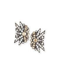 Lulu Frost | Metallic Larkspur Crystal Stud Earrings | Lyst