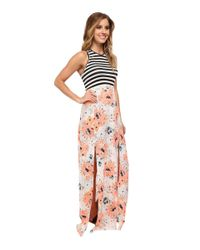 Hurley - Multicolor Simone Tank Maxi Dress - Lyst