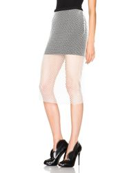 Michelle Mason | White Mason By Pencil Skirt | Lyst