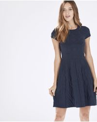 Parker | Blue Meena Fit-and-Flare Dress  | Lyst