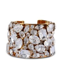 Stella McCartney | Metallic Stones Cuff | Lyst