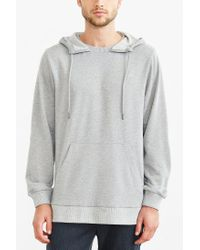Timberland | Gray Ribbed Terry Sweatshirt for Men | Lyst