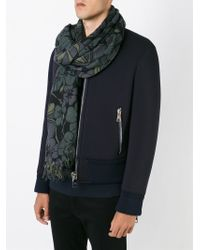 Marni | Black Blossom Scarf for Men | Lyst
