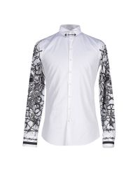 DSquared² - White Shirt for Men - Lyst