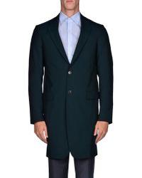 Jil Sander - Blue Full-length Jacket for Men - Lyst