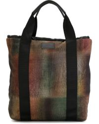 Paul Smith - Multicolor 'blurred Check' Backpack - Lyst