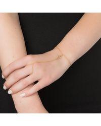 Jennifer Zeuner | Yellow Mini Raquel Hand Chain | Lyst
