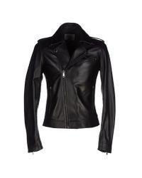 Les Hommes | Black Jacket | Lyst