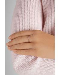 Scosha - Metallic Lolli 10-Karat Rose Gold Diamond Ring - Lyst