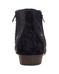 Somerset by Alice Temperley - Black Puxton Reptile Effect Ankle Boots - Lyst
