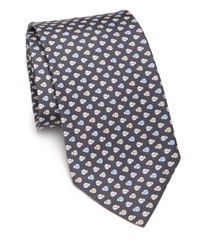 Ferragamo | Gray Ladybug Silk Tie for Men | Lyst