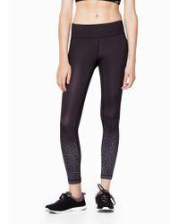 Mango | Black Fitness & Running - Slimming Effect Leggings | Lyst