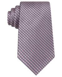 Michael Kors | Gray Michael Eastern Cover Tie for Men | Lyst
